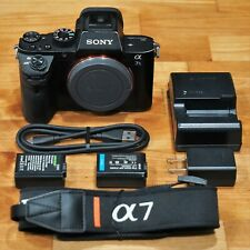Sony Alpha a7S II Mirrorless 12.2MP Full Frame Digital Camera Body w/Batteries