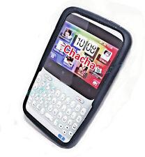 Silikon TPU Handy Hülle Cover case Schutz in Schwarz für HTC ChaCha