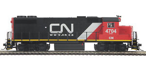 MTH HO Canadian National GP38-2 DCC Ready Engine 85-2039-0