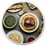 2 x Vinyl Stickers 30cm - Arabic Cuisine Middle East Food Cool Gift #21144