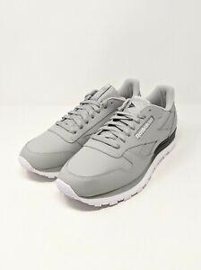 Reebok Classic Leather MU Men's Gray Sneakers Size 11 New