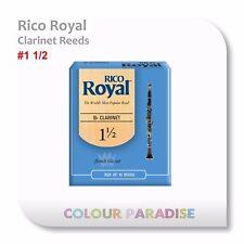 Rico Royal Bb Clarinet Reed 1.5 Strength - 10 Pack Box Reeds