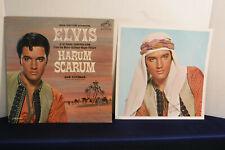 Elvis Presley, Harum Scarum, RCA Victor Records LPM 3468, 1965, PHOTO,Soundtrack
