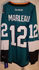 Reebok Premier NHL Jersey San Jose Sharks Patrick Marleau Teal Alt sz 3X