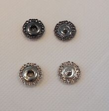 Metal snap fastener press stud popper snap in floral shape 1.5cm sewing DIY