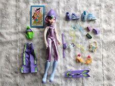 Cute Purple Theme with Purple / Pink Hair Winx Club Doll & Accessories