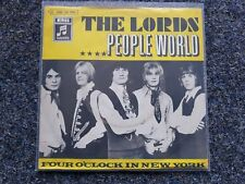 The Lords - People world 7'' Single GERMANY