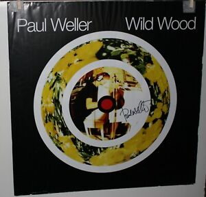 Paul Weller Wild Wood Autographed Signed US Promo Poster The Jam Style Council