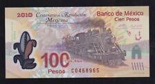 MEXICO ------ 100  PESOS  2010 ---- UNC ---- POLYMER -----