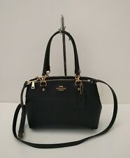 New Coach Mini Brooke Carryall Handbag  F25395 Black