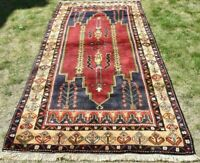 Turkish Oriental Hand Knotted Carpet Anatolia Traditional Natura Wool Rug 4x8ft.