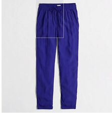 J Crew Women's Pull-On Blue Pants, Size 8, New without tags