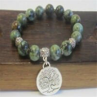 6-8mm Turquoise Lucky bracelet Lucky Bead Natural Energy Spirituality Wrist