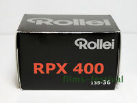 10 rolls Rollei RPX 400 B&W 35mm 36exp Black and White Film