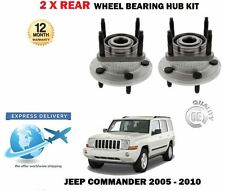 FOR JEEP COMMANDER XH 3.0DT 4.7 5.7 2005-2010 2 X REAR WHEEL BEARING HUB KITS