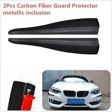 A Pair 283MM Carbon Fiber Look Shark Fin Style Car Bumper Corner Guard Protector