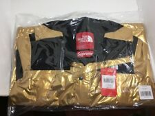 Supreme x The North Face Metallic Gold Mountain Parka Size Small