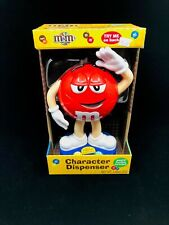 RED M&Ms DISPENSER Character Chocolate Candy Cute Advertising Collectible NEW