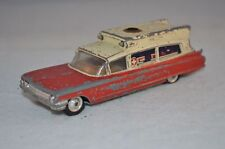 Corgi Toys 437 Vintage - SUPERIOR Ambulance on Cadillac chassis