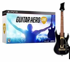 Guitar Hero Live Bundle (Sony PlayStation 3, 2015) PS3 NEW Factory Sealed