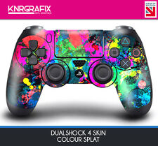 KNR6411 CAMO COLOUR SPLAT DUALSHOCK 4 PREMIUM SKIN DS4 STICKER