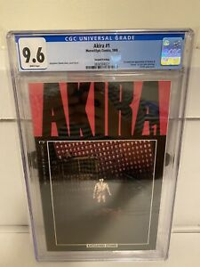 Akira #1 CGC 9.6 NM+ 1st Kaneda & Tetsuo Marvel Epic Comics 1988 wp not 9.8