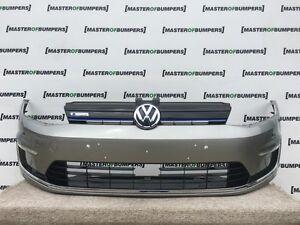 VW GOLF MK7 GTE ELECTRIC HYBRID 2014-2016 FRONT BUMPER IN GREY COMPLETE [V276]