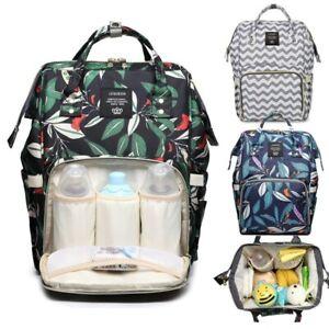 Sac à langer sac à dos maman sac Multifonctionnel Bébé Sac de Biberon Voyage
