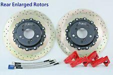 Platz1 Rear 350mm Brake Disc Rotor Upgrade Kit for HONDA Civic TypeR 2015-17