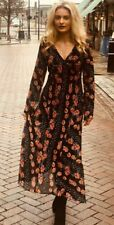 NEW - TOPSHOP -  BEAUTIFUL VINTAGE STYLE FESTIVAL HIPPY CHIC  DRESS - SIZE 8