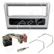 Radio diafragma luz plata Opel Astra Vectra Corsa C Omega B ISO Radio Adaptador set