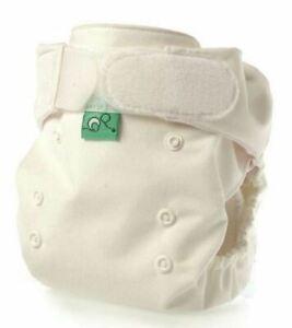 TotsBots Pocket Tot Cotton Reusable Nappy, White, 5 Pack
