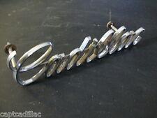 68 69 Cadillac Deville Fleetwood Eldorado Calais Radiator Grille Script Emblem