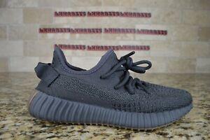 NEW Adidas Yeezy Boost 350 V2 Cinder Reflective FY4176 Size 4.5 Men Black Brown