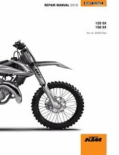 KTM Service Workshop Shop Repair Manual Book 2018 150 SX