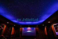 Twinkle star fiber optic light kit night light RGBW led light box+mix size PMMA