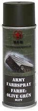 Mfh BW Esercito Army Vernice Spray colore Militare 400ml Bomboletta Contenitore Verde oliva Ral6014