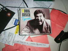 CD schlager Dirk Busch typiquement 3 chanson MCD signifiant + press kit