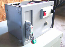 * Square D Motor Control Bucket MCC 15A /Cover & Motor Starter, Model  6  OD-300