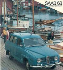 1968 Saab 95 V4 Sales Brochure x6639-9LPPJX