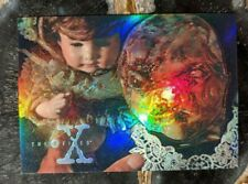 1996 TOPPS - X-Files Trading Card - Refractor Insert Card X3PF 1