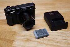 Canon G7X Mark ii Powershot Camera Bundle W/ Charger PLEASE READ/FOR PARTS ONLY