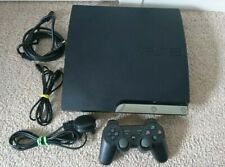 355 PS3 PlayStation 3 Slim 160GB 3.55 OFW Charcoal Black Console (CECH-2503A)
