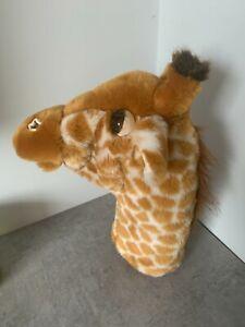 The Puppet Company Long Sleeve Giraffe Plush Soft Hand Glove Puppet