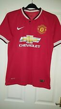 Mens Football Shirt - Manchester United - Home 2014-2015 - Nike - Chevrolet - M?