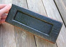 Reclaimed Iron Letter Box Plate / Door Mail Slot / Mailbox