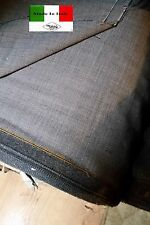 3mt FINE ITALIAN WORSTED WOOL FABRIC FOR SUITS 150cm wide