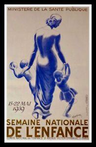 Original vintage poster - Semaine de l'enfance by CAPPIELLO 1939