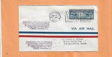 US # C7 FIRST FLIGHT WASHINGTON DC TO SAN FRAN / NY AAMS 19S3 MAY 2,1928