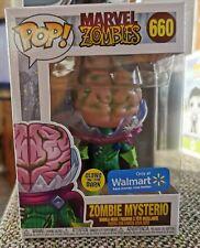 Funko Pop! Zombie Mysterio (Glow In Dark) Walmart Exclusive + Protector